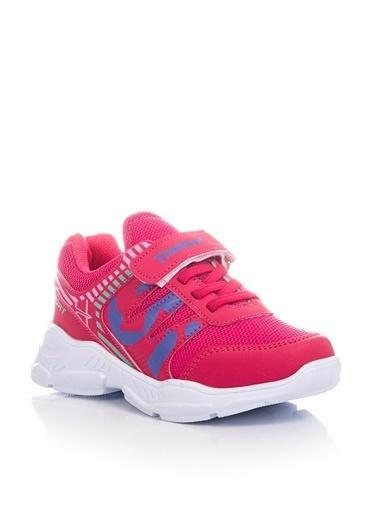 Tonny Black Fuşya Çocuk Spor Ayakkabı Tbz14  Fuşya
